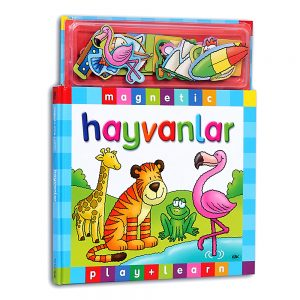 Magnetic Play and Learn Hayvanlar